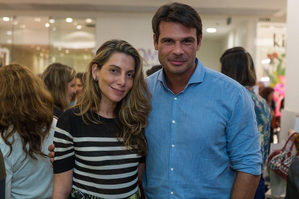 Renata Reis e Henrique Baez