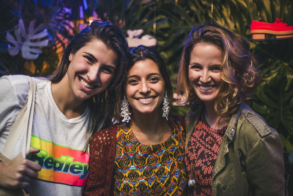 Lara D'Avila, Alice Gelli e Bruna Aragao