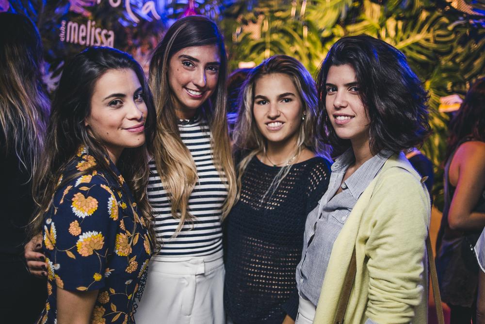 Mari Godinho, Catarina Zecchin e Carol Koeler