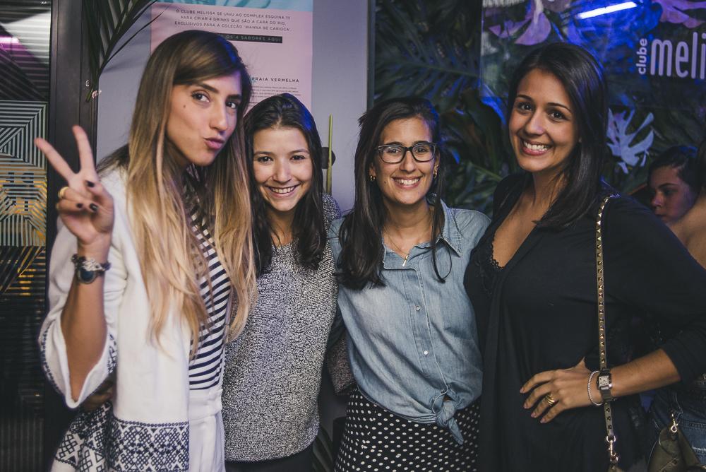 Flavia Bandeira, Paula Bandeira e Antonia Lima