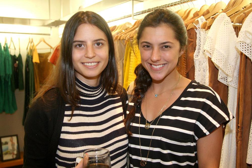 Isabela Helcias e Olivia Nolasco