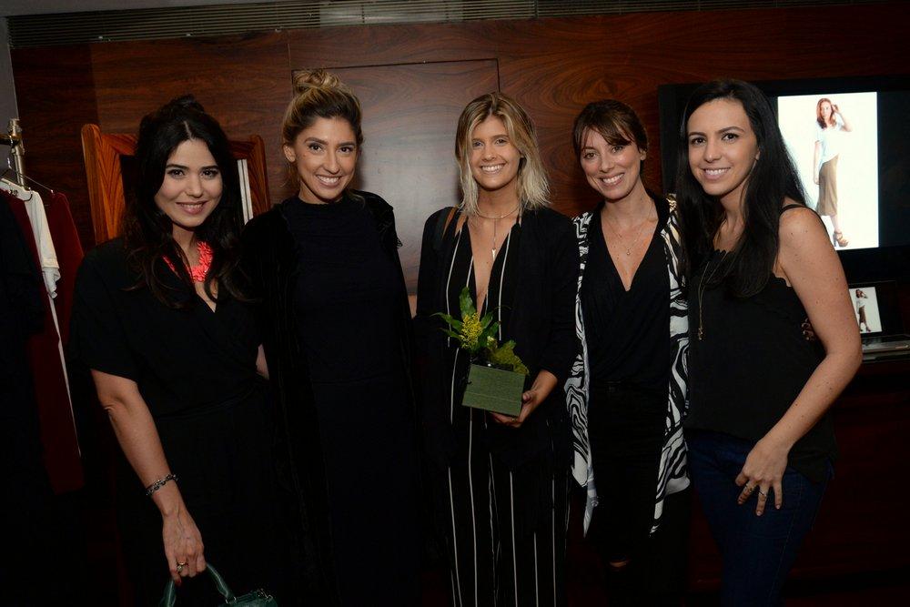 Didi Maia, Lu D'Angelo, Marina Comar, Fabiola Cabral e Fernanda Camino.JPG