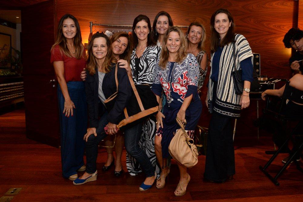 Claudia Capanema, Mary Ann Magalhães, Marcia Baldanza, Lavinia Prado, Luciana Tostes, Tiani Avelino, Valeria Sant'anna e Marcella Ribenboim.JPG