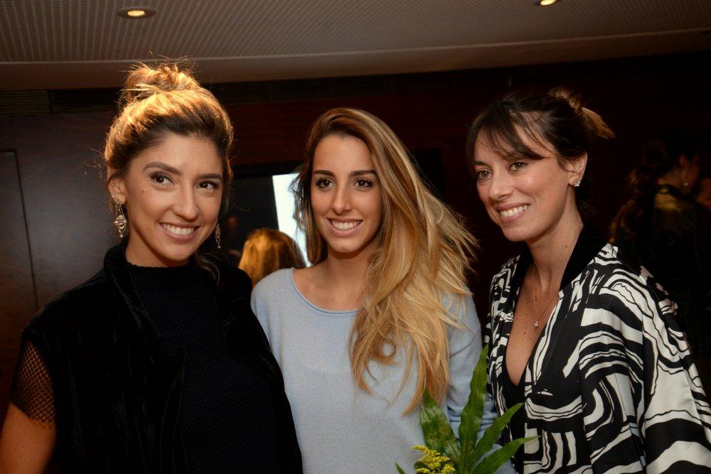 Lu D'Angelo, Fernanda Di Biasi e Fabiola Cabral (1).JPG