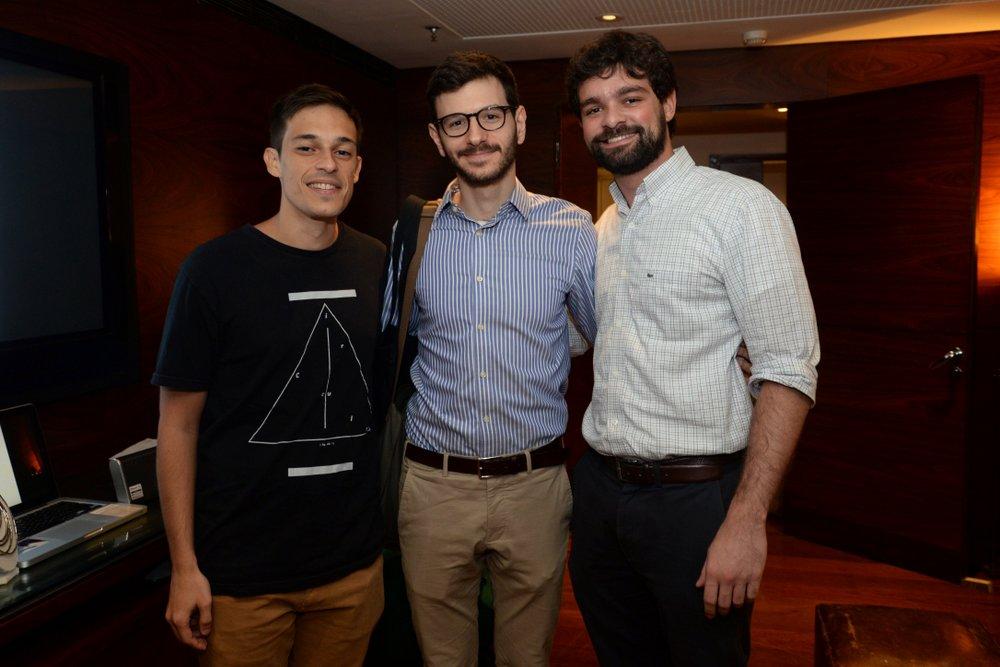 Gustavo Pontes, Jose Sapir e Pedro Brigagao.JPG