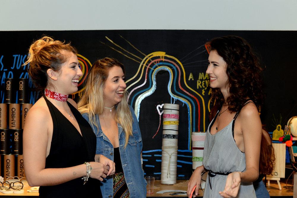 Nice Moanna, Ana Luiza Lima e Isadora Tupinamba.JPG