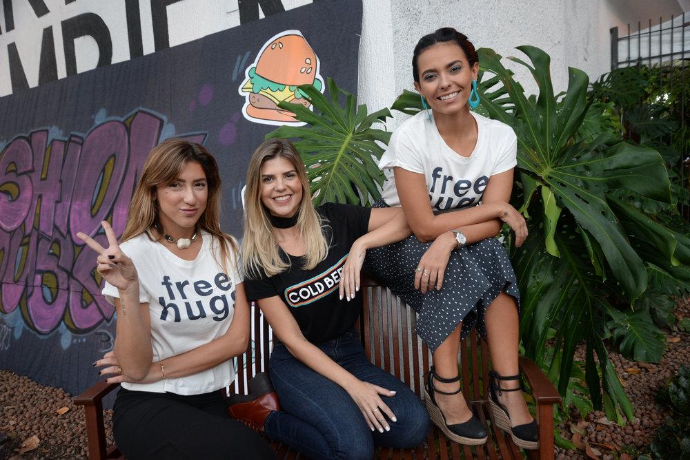 Luiza D'Angelo, Mariana Reis e Fernanda Britto.JPG