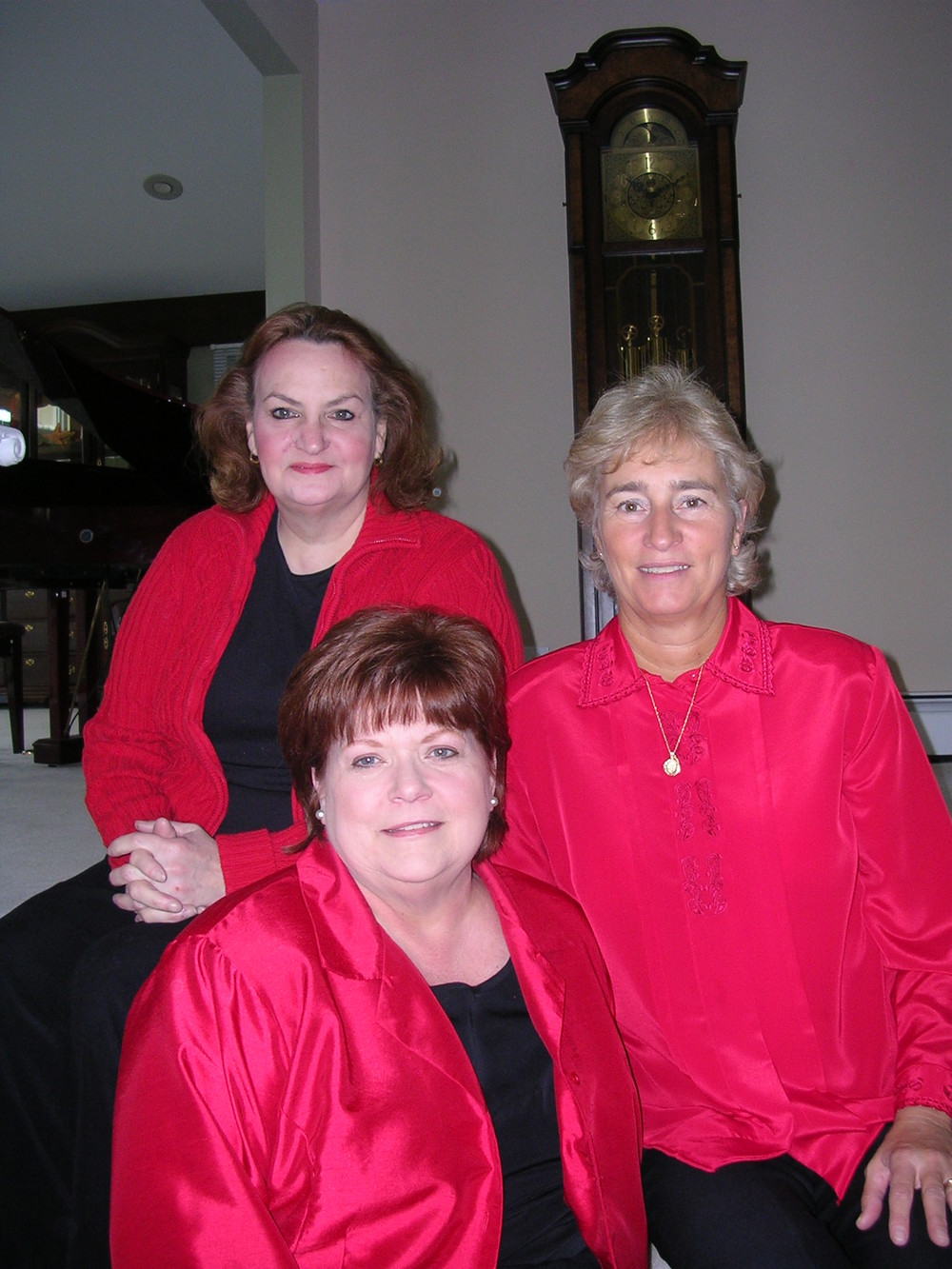Pictured above:  Jeanie Cupp, Juanita Beavers, and Cindy Rapp