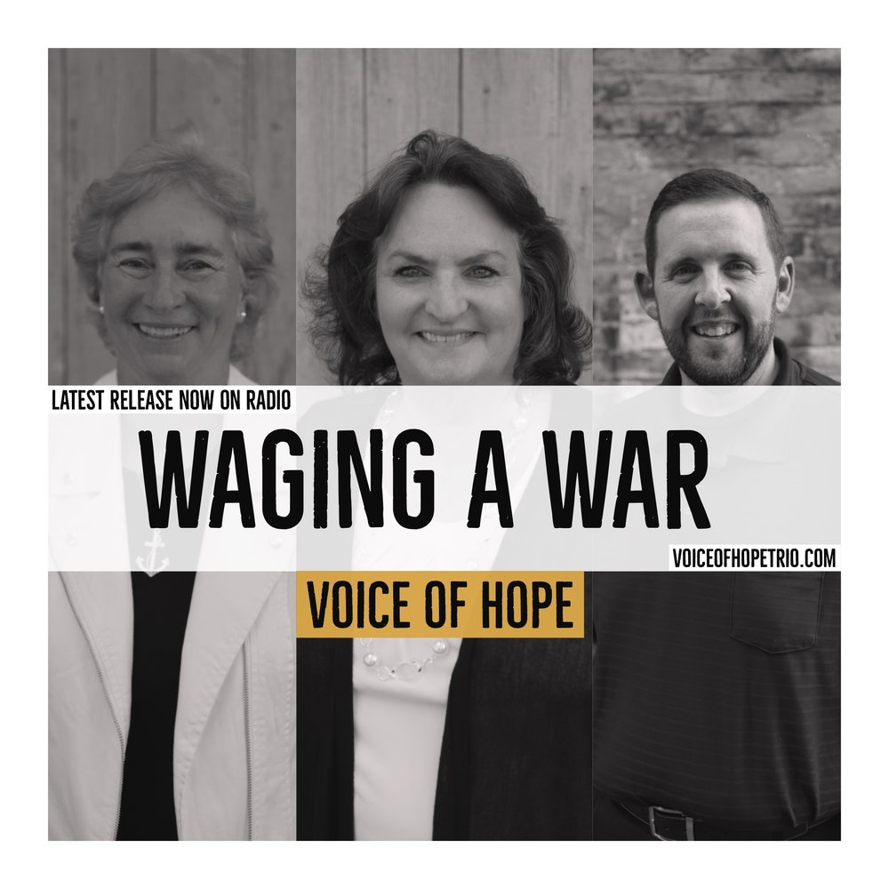 Voice of Hope Releases Latest Radio Single - Check out the Southern Gospel Time's article about our new single, Waging A War, by clicking on the button below to go to their site.