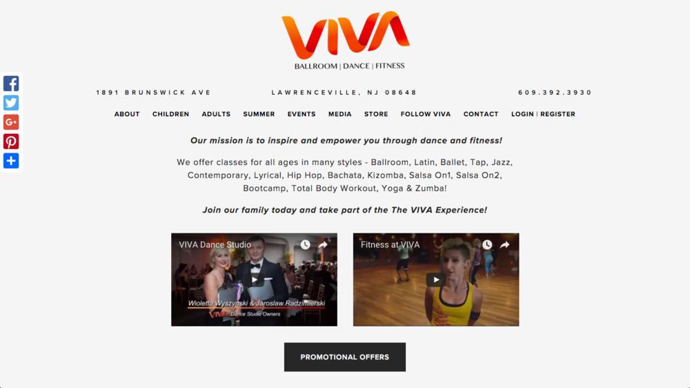 VIVA Ballroom | Dance | Fitness
