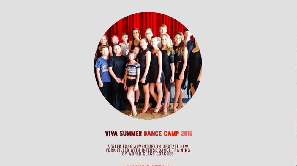 VIVA Summer Dance Camp