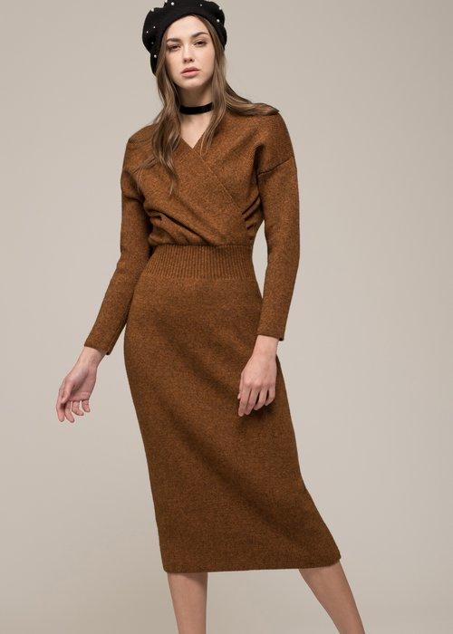 1ba2ecc7389 Moon River - faux wrap sweater dress — RAH RAH NYC