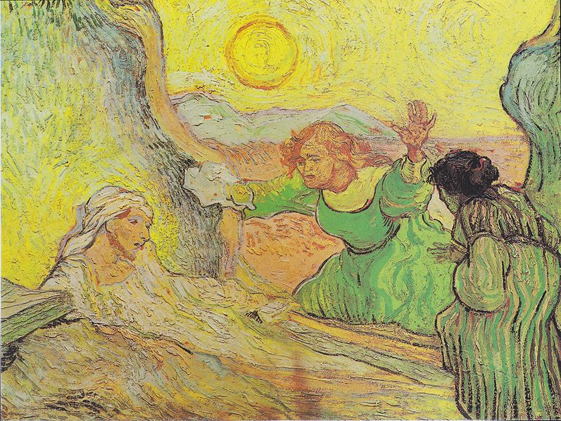 """The Raising of Lazarus"" by Vincent Van Gogh"