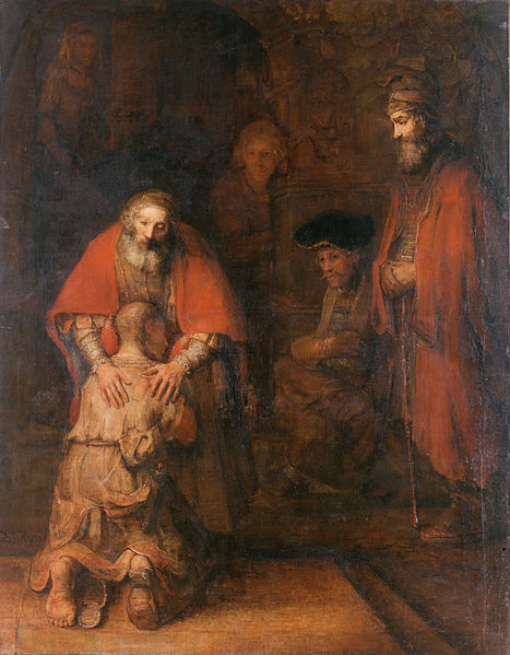 Rembrandt, The Return of the Prodigal Son, c. 1668 - Painting