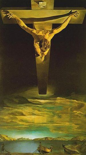 Christ of St. John of the Cross - Salvador Dali