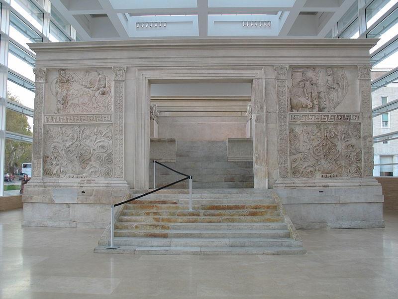 Ara Pacis - Altar of Peace, 9 BC (full view)