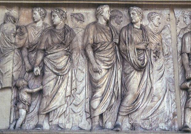 Ara Pacis - Altar of Peace, 9 BC (north relief)