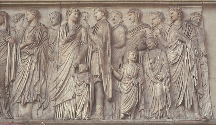 Ara Pacis - Altar of Peace, 9 BC (south relief)
