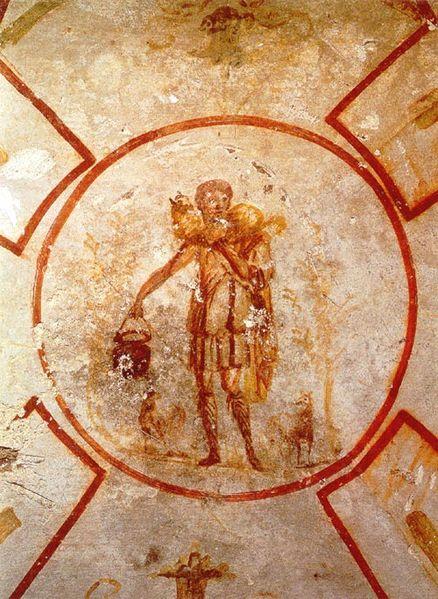 Jesus as the Good Shepherd, mid 3rd century AD