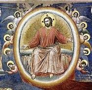 Pentecost 15 - Giotto di Bondone, Last Judgment, 1306 (center detail).jpg