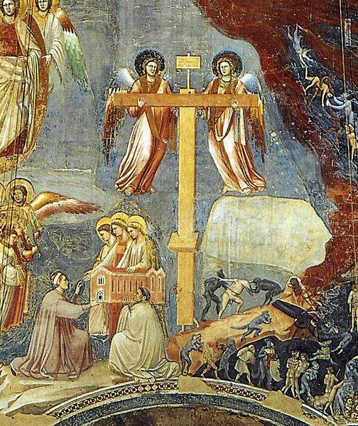 Pentecost 15 - Giotto di Bondone, Last Judgment, 1306 (More detail) 2.jpg
