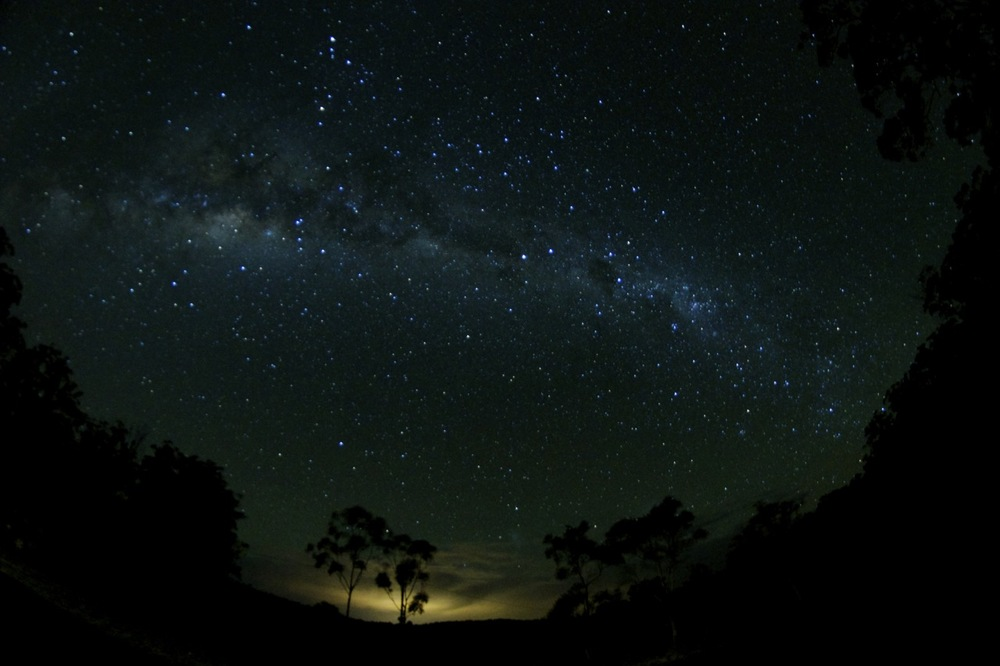 Night sky in the Australian Outback.