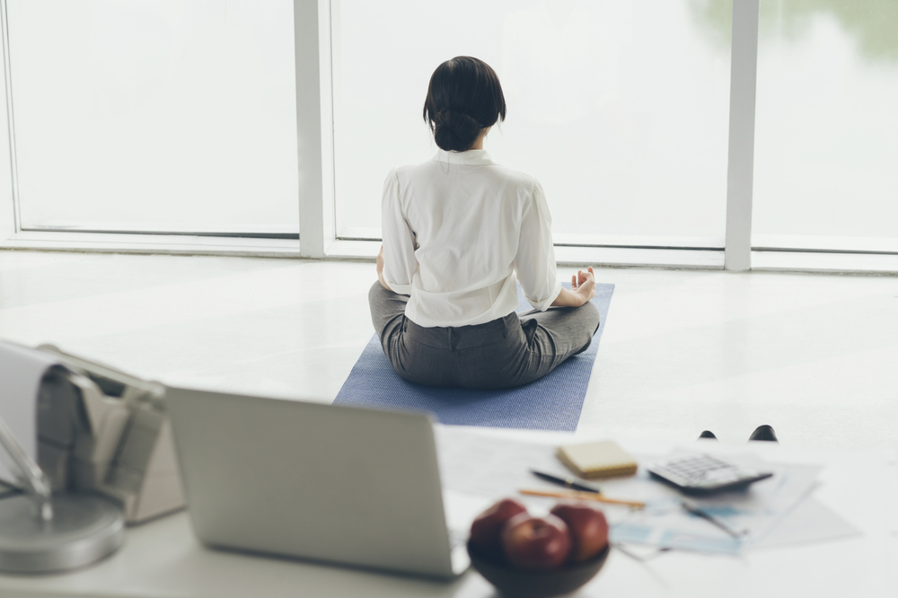Meditation a 'kind of mental training' proven to increase happiness and productivity in the workplace.
