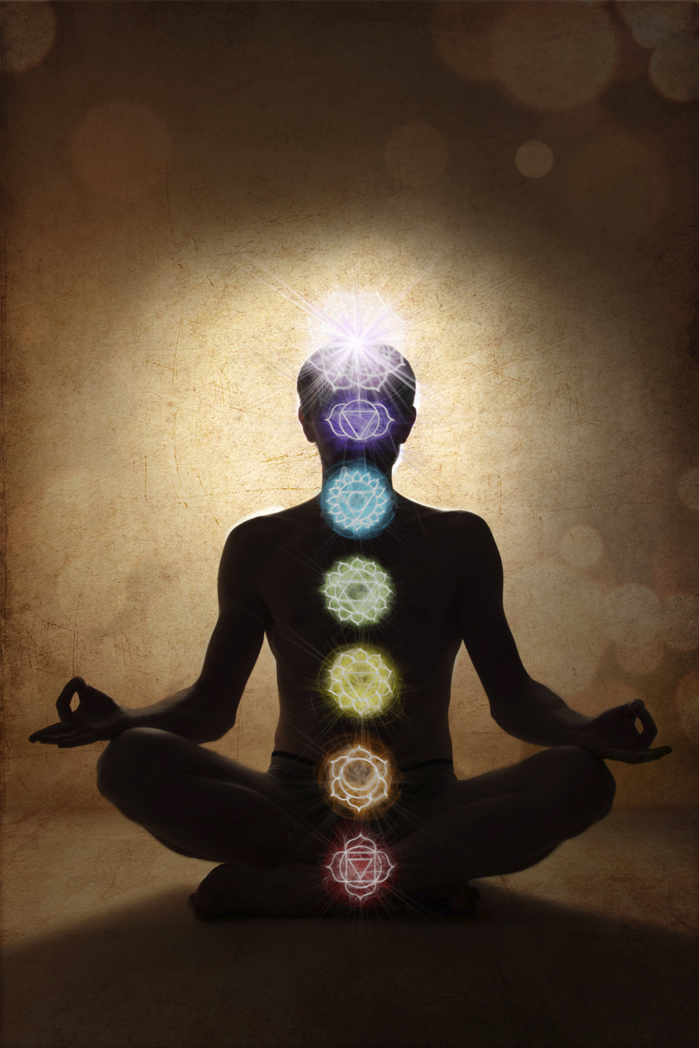 Align the  chakras  within you
