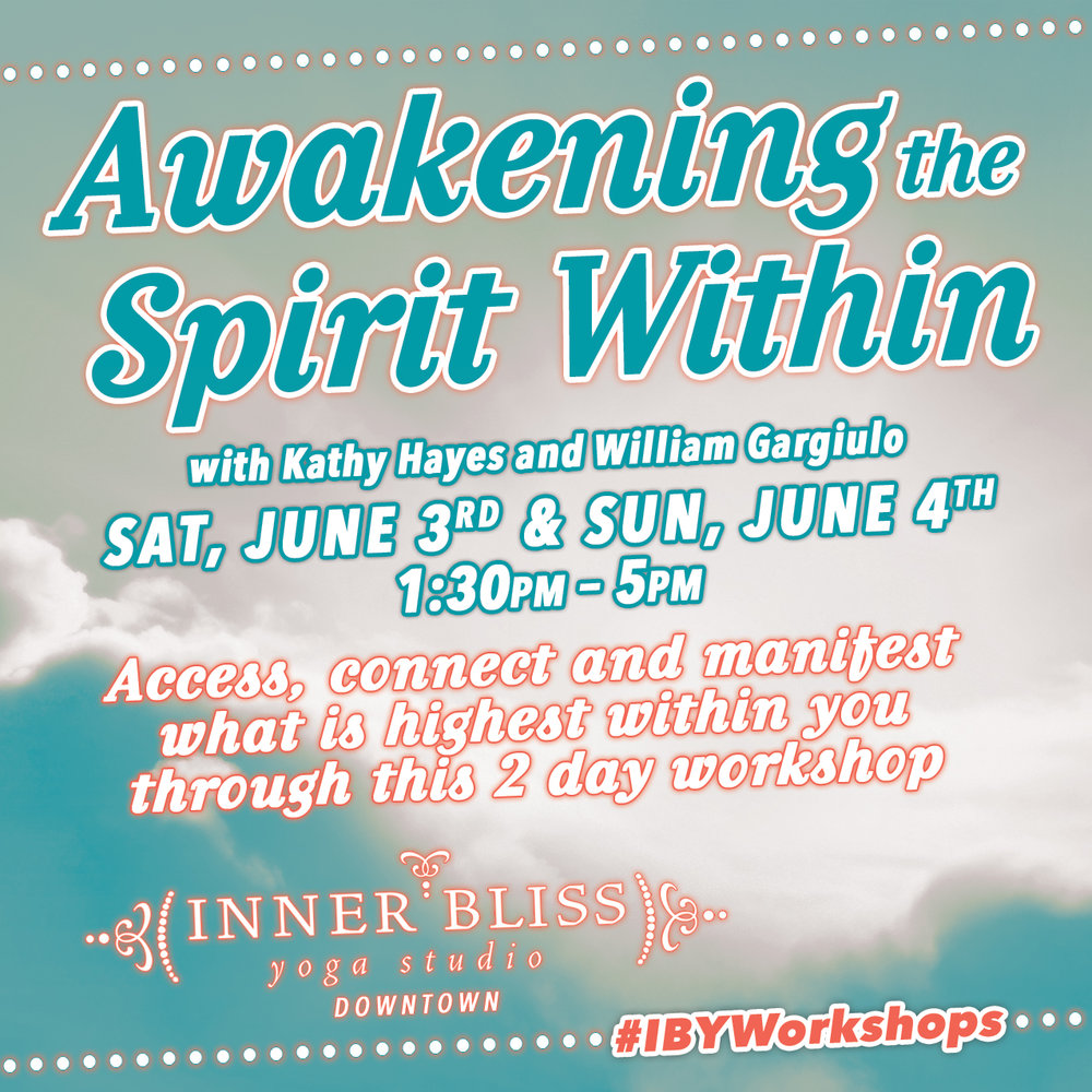 This workshop combines discussion, yoga practice, meditation and music to allow you to fulfill your heart's desire.
