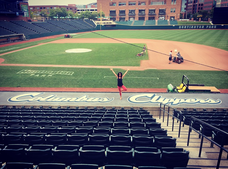 Official Yoga Provider The Columbus Clippers Inner Bliss