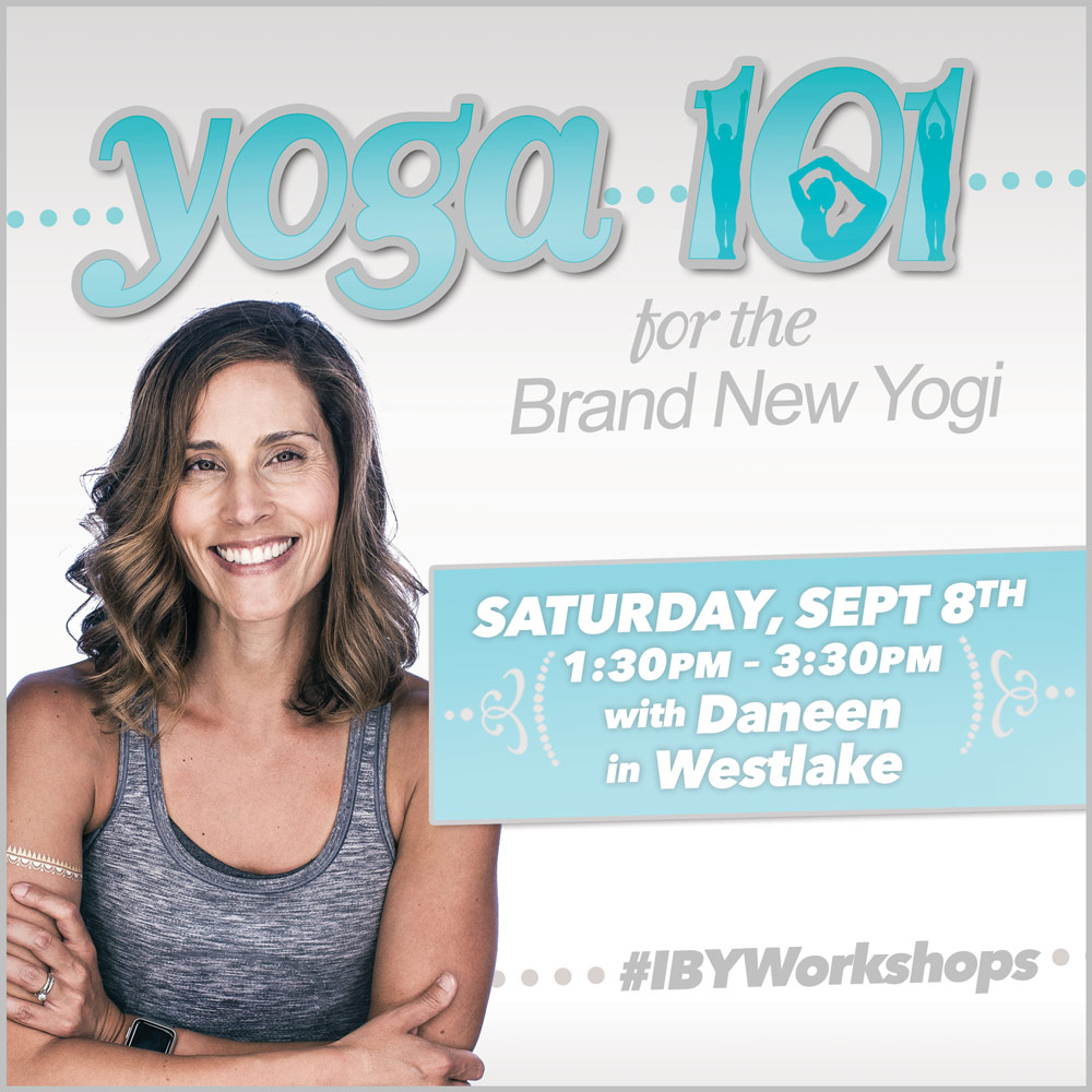 On Saturday, September 8 you can catch me in Westlake leading our  Yoga 101  for beginners. If you are looking to begin or renew your yoga journey, please join me for this sweet offering.