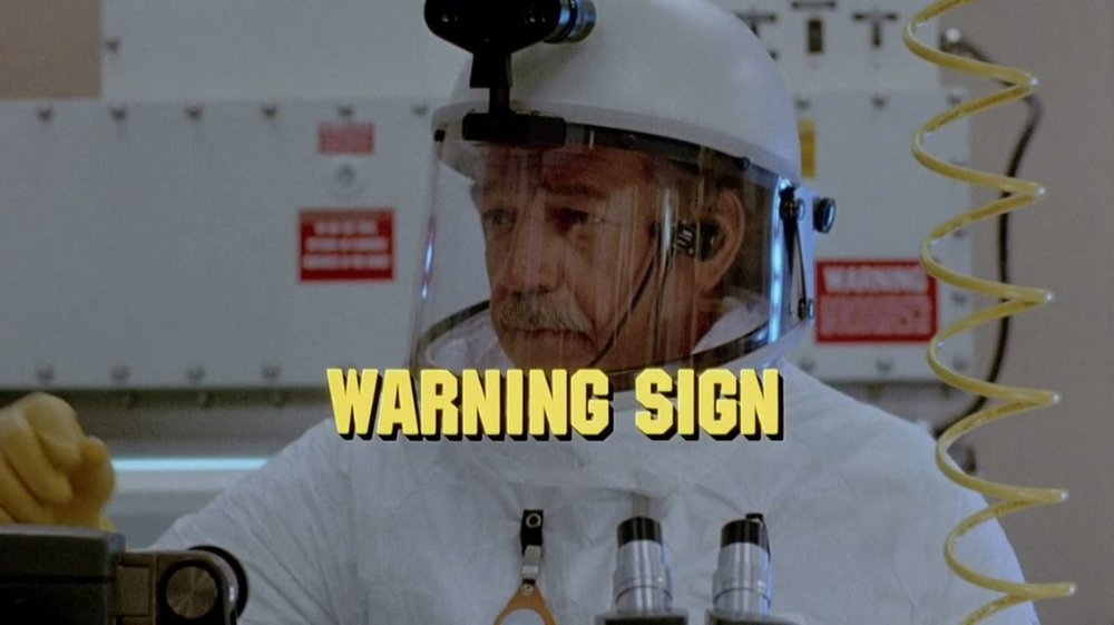 Zombie Film Rules - Warning Sign.JPG
