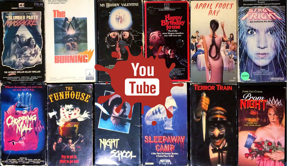 Full Length Horror Movies on YouTube: A Complete List From 1986 ...