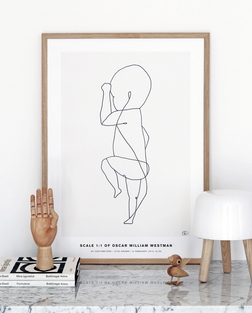 Poster: Continuous Line #1