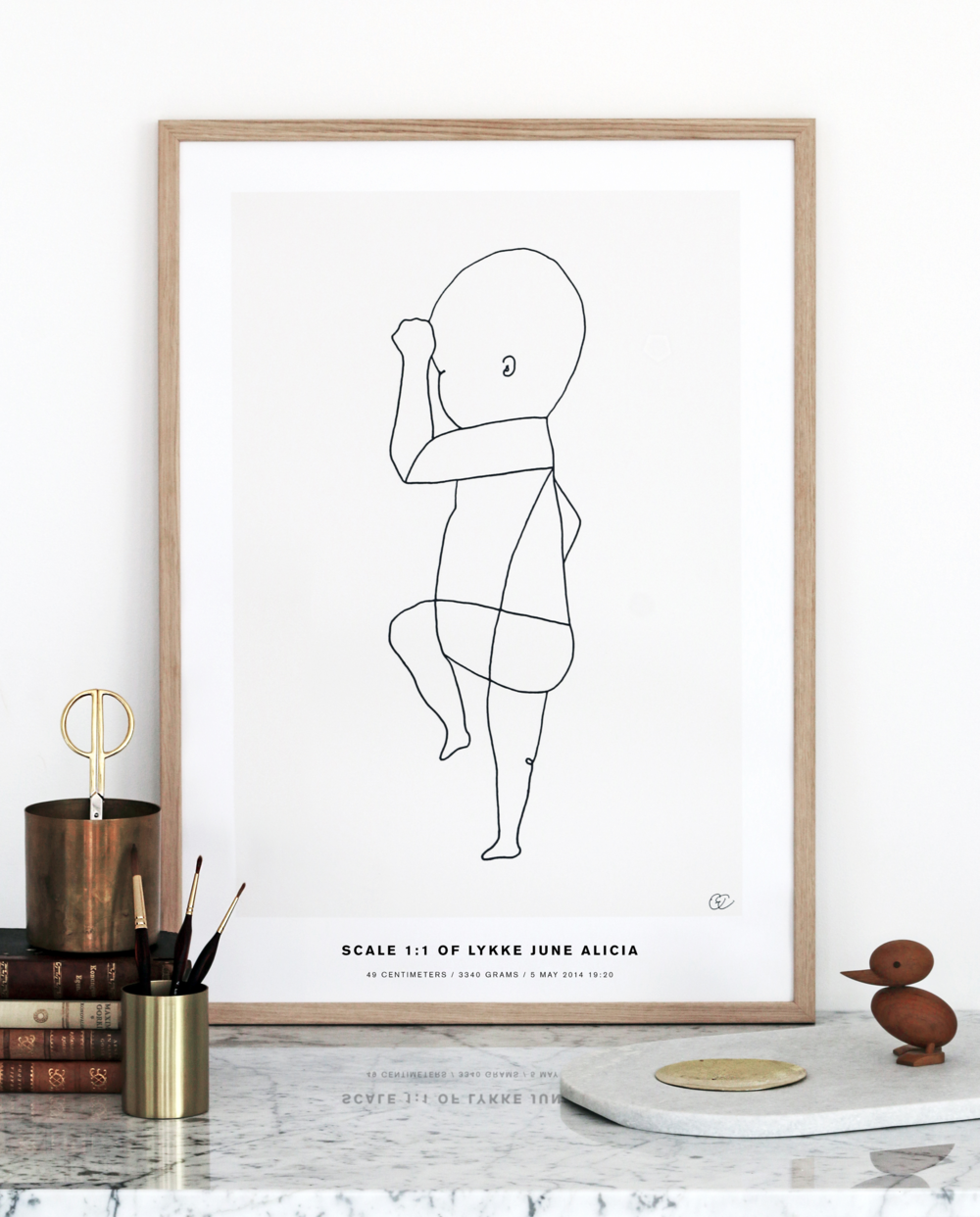 Poster: Continuous Line #2