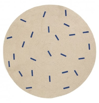 Ferm Living Blue Sticks / 100cm 100% Jute / $89 - from Leo and Bella