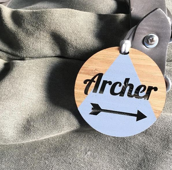 Arlo and Co  / Bag Tag / $15