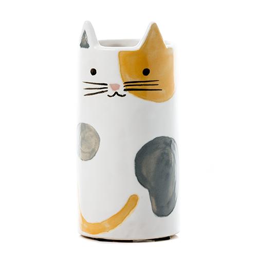 Lily Cat Vase Tortie $17.49