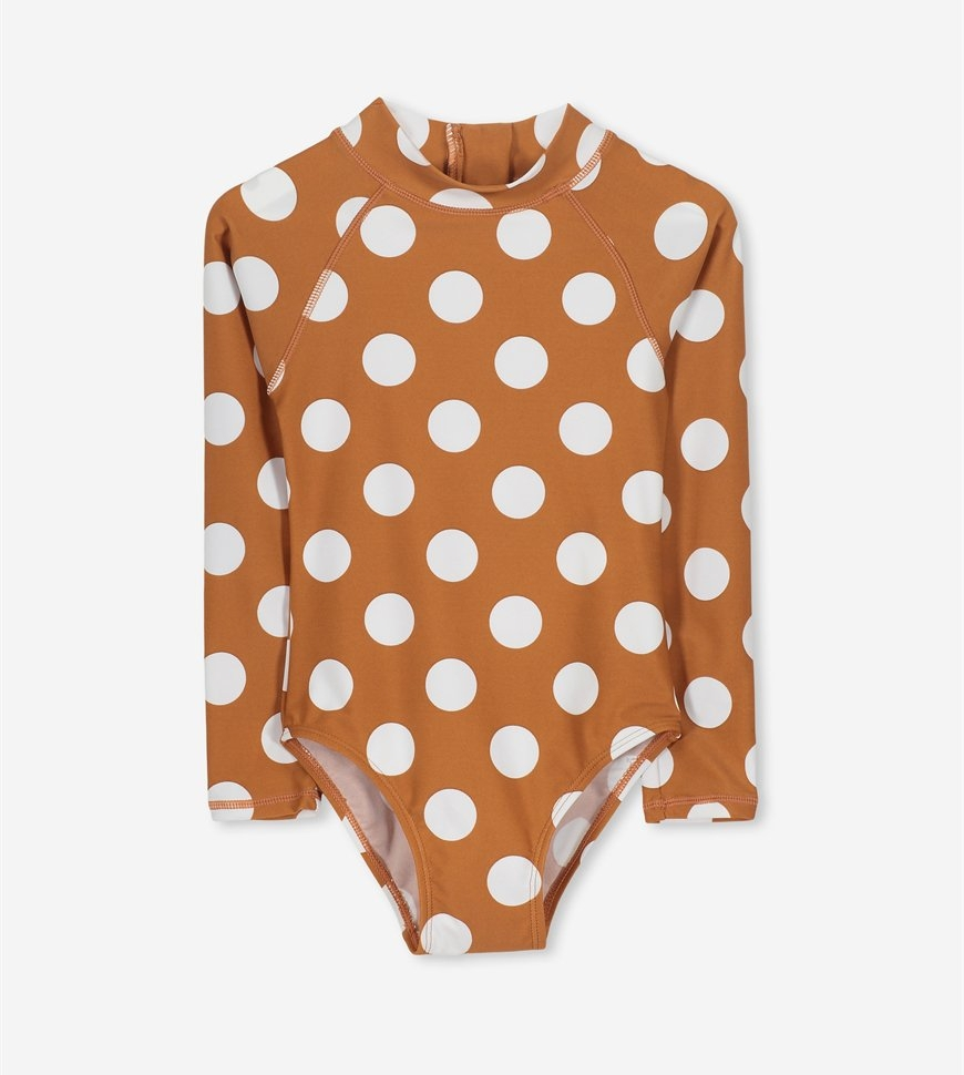 Cotton On - Lydia Rashie swimsuit, $29.99