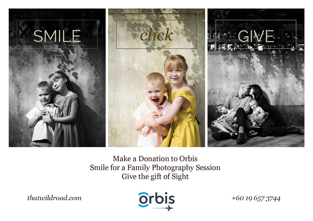 A charity photoshoot in Kuala Lumpur by family photographer Erica Knecht.
