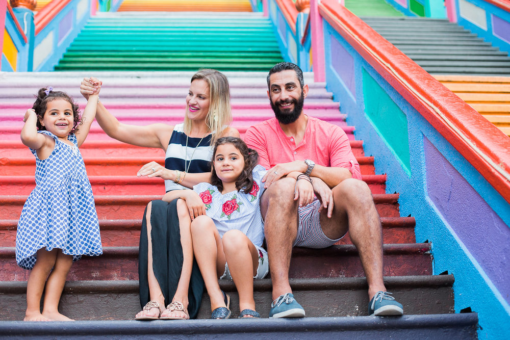 A family portrait by Kuala Lumpur Family Photographer Erica Knecht.