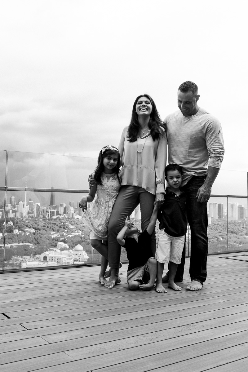 A life style family photography session in Kuala Lumpur