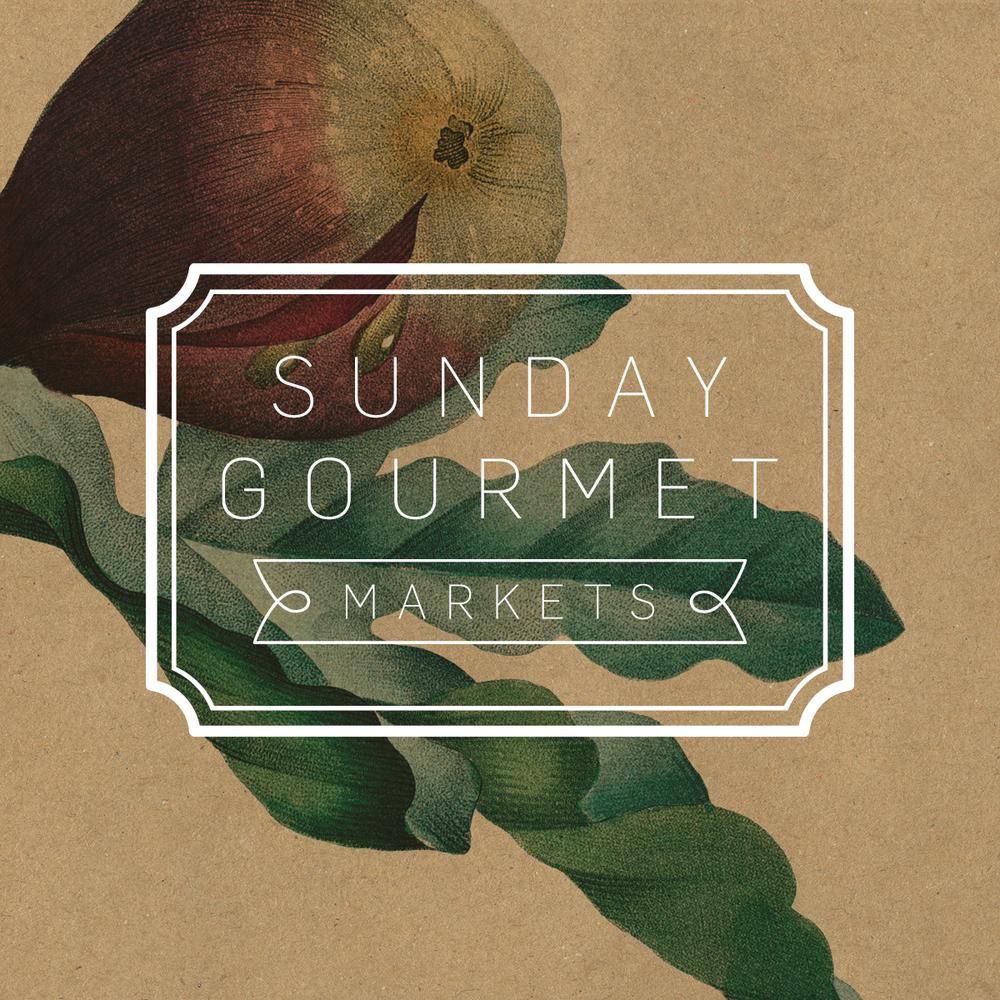 Westfield Chermside's Sunday Gourmet Markets Design Assets