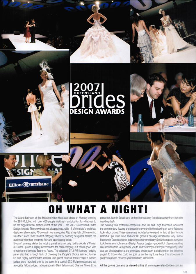 Queensland Brides Magazine 2008