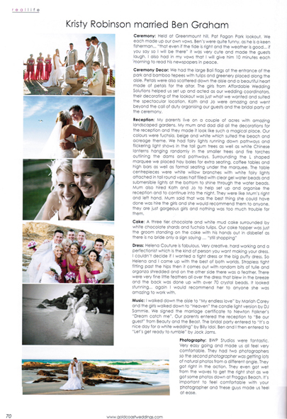 Gold Coast Weddings Magazine