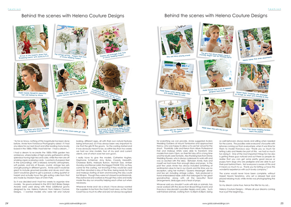 Gold Coast Wedding Magazine – Autumn 2013