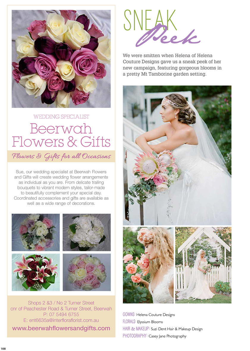 QLD Brides Magazine Winter 2014
