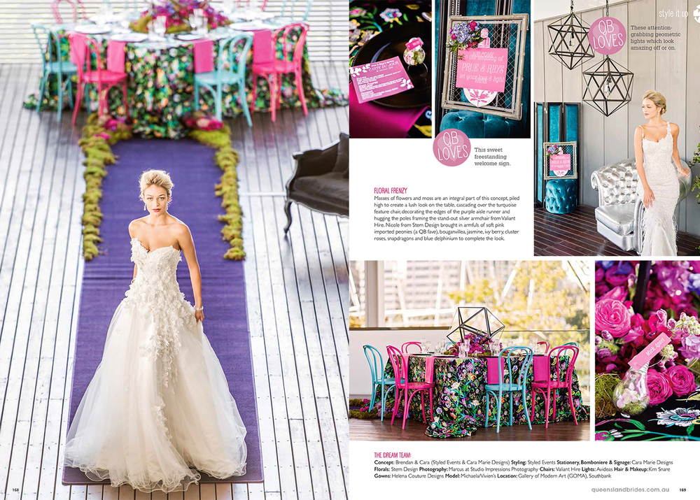QLD Brides Magazine Spring 2014
