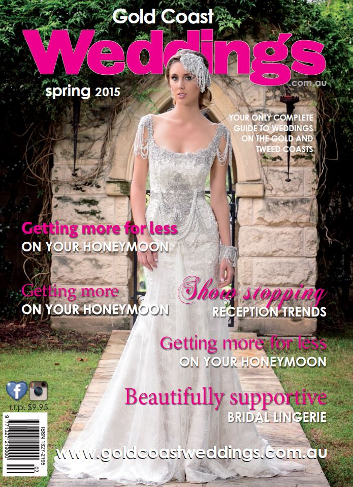 Gold Coast Wedding Magazine Front Cover