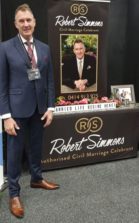 Robert is such a gentleman, who I met years ago, through all the wedding expos.